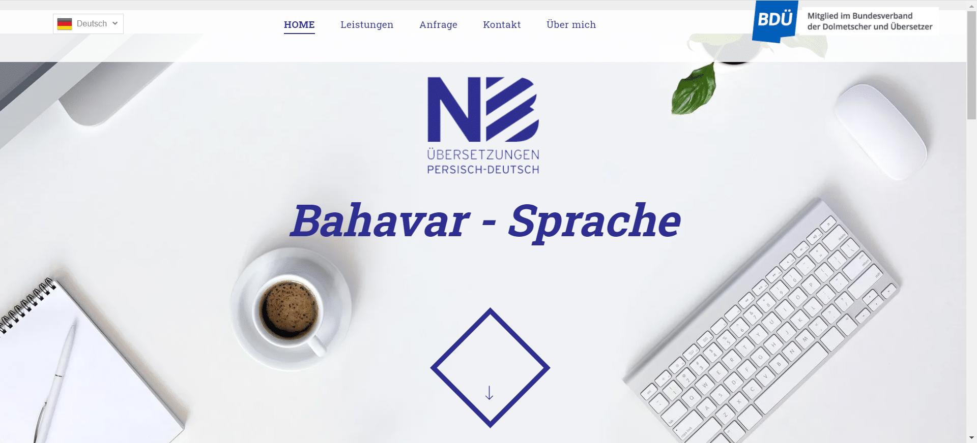 wunderbare webseite, designed by Alkenana Agentur